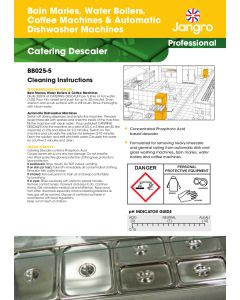 Set of 10 Laminated Instruction Sheets - Enviro Concentrate (A4)