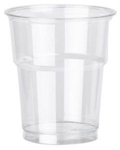 Clear Plastic Smoothie Glasses 12oz 30cl PET