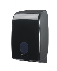 Aquarius Folded Hand Towel Dispenser Black