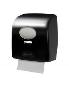Aquarius  Slimroll Rolled Hand Towel Dispenser  Black