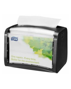 Tork Xpressnap Tabletop Napkin Dispenser, Black