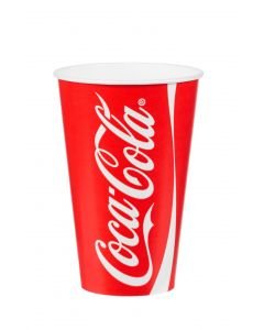 12oz 'Coke' Cold Drink Cup 300ml