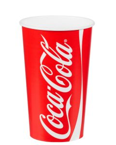 22oz 'Coke' Cold Drink Cup 500ml