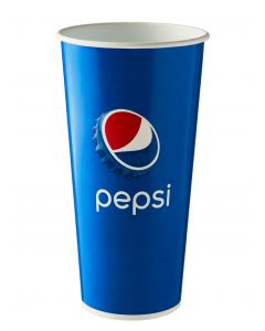 22oz 'Pepsi' Cold Drink Cup 500ml