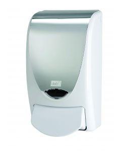 White Chrome Strip 1L Dispenser