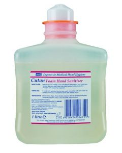 Cutan Foam Hand Sanitiser 1 litre. This product is out of stock until further notice.