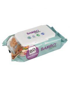 Bambo Nature Baby Wipes 80 pack
