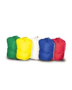 Drawstring Laundry Bag 70x101cm Polyester Yellow