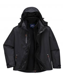 3 in 1 Radial Jacket Black Size M