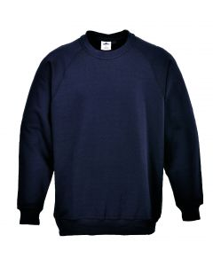 Roma Sweatshirt, Navy 2XL