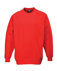 Roma Sweatshirt, Red 2XL