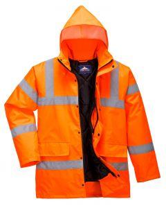 Hi-Vis Coat, Orange Size 5XL