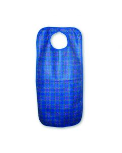 Heavy Duty Clothing Protector/Apron, snap closure, 45x90cms, Blue Stuart