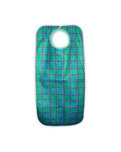 Heavy Duty Clothing Protector/Apron, snap closure, 45x90cms, Green Stuart