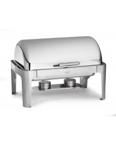 Stainless Steel Chafing Dish Full Size Roll Top