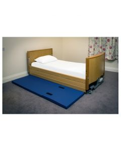 Crash Mattress - wipe clean, foldable, carry handles