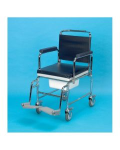 Days Adjustable Height Mobile Commode 22 Inch