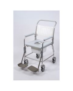 Aluminium Shower Commode Chair