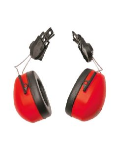 Clip On Ear Muffs to fit SA030 Red