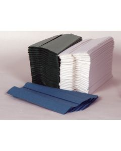 C-Fold Hand Towel, Green 1 ply