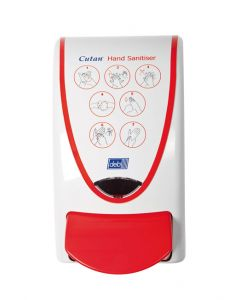Cutan Hand Sanitiser Dispenser 1 litre. This product is out of stock until further notice.