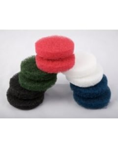 Caddy Clean - Abrasive Pads - Black. Pack of 10