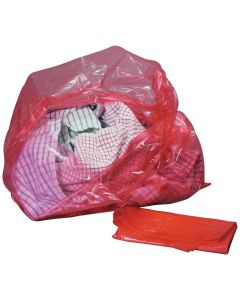 """Red Laundry Bags 18"""" x 28"""" x 38"""""""