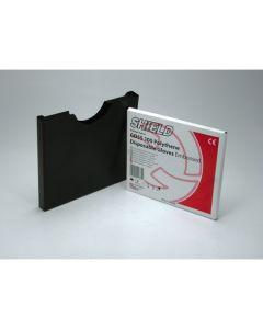 Dispenser for Polythene Gloves, Black Metal