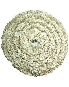 "17"" Carpet Cleaning Bonnet, White"