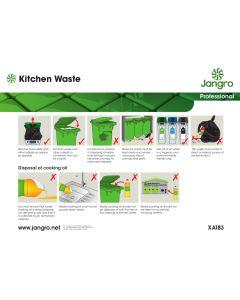 Kitchen Waste Wall Chart (A4)